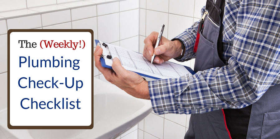 Plumbing Spring Cleaning Checklist