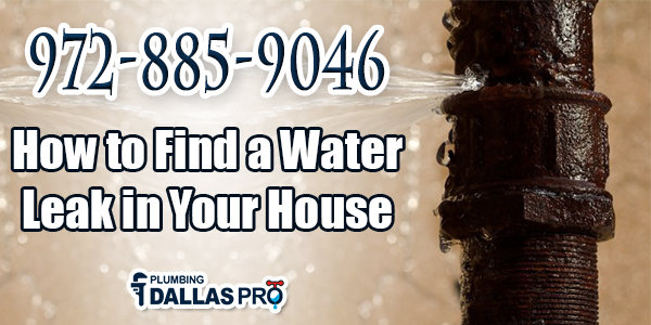 How to Find a Water Leak in Your House?